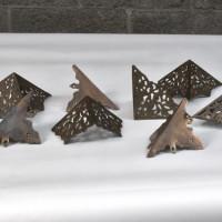 Coin de métal décoratif en laiton - Brass decoratif metal corner