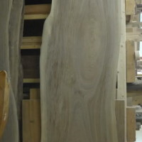 Bois local slab noyer noir - Local wood black walnut slab