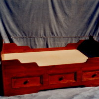 Lit capitaine pin - Pine kid bed