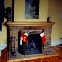 Manteau cheminée pin - Pine mantlepiece
