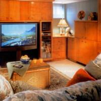 Meuble télé érable - Maple tv cabinet