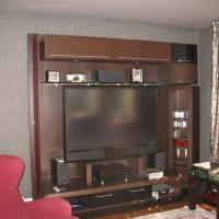 Meuble télé chêne - Oak tv cabinet