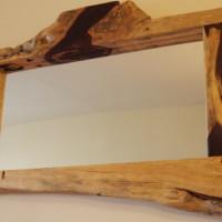 Mirroir tamarin organique - Live edge tamarin mirror