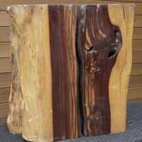 Tronc bois exotique tamarin - Exotic tamarin wood trunk