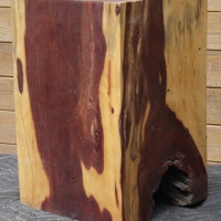 Bloc de bois exotique tamarin - Exotic tamarin wood block