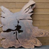 Slab de bois exotique organique sono - Live edge exotic sono wood