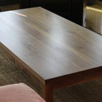 Table à café en noyer noir - Black walnut coffee table