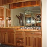 Vanité cèdre - Cedar vanity