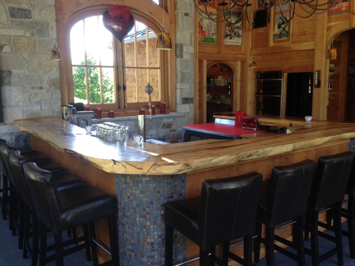Bar bois exotique tamarin
