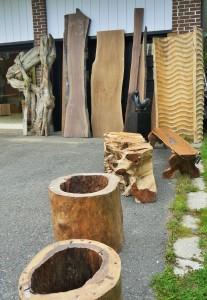 Matière première bois