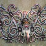 Masque mural)