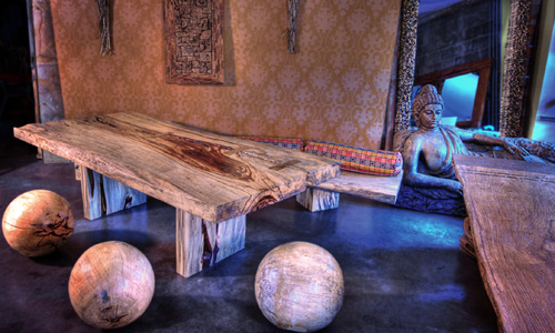 Tamarind Table and Balls