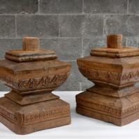 Teck sculpté Sutton - Sculpted teak Sutton