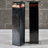 Pattes en cuivre martelé - Hammered copper leg - 4