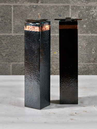 Pattes en cuivre martelé – Hammered copper leg – 4