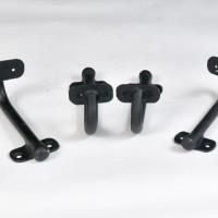 Quincaillerie pour rampe d'escalier - Banister hardware
