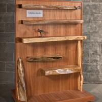 Étagère organique - Live edge shelf
