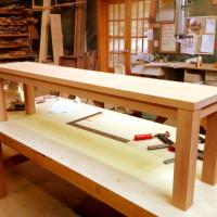 Banc Érable - Maple bench