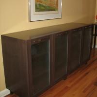 Buffet vaisselier érable teint - Stain maple dresser