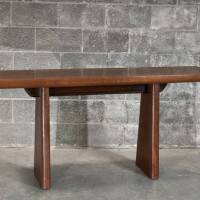 Console suar teint - Stained suar side table