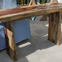 Console tamarin - Tamarin exotic wood side table