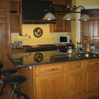 Cuisine pin - Pine kitchen