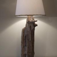 Lampe bois de grève - Driftwood lamp