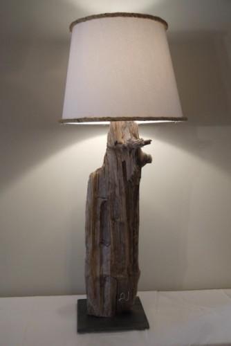 Lampe bois de grève – Driftwood lamp