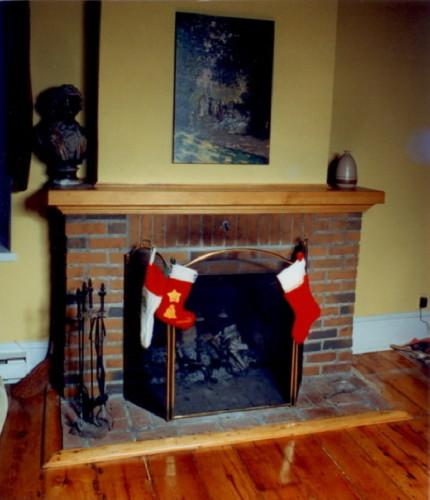 Manteau cheminée pin – Pine mantlepiece