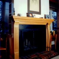 Manteau de cheminée - Mantlepiece