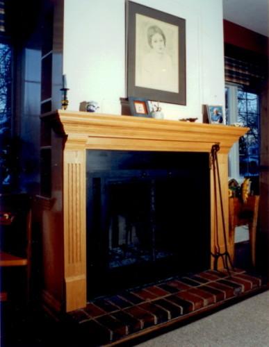 Manteau de cheminée chêne – Oak mantlepiece