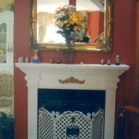 Manteau de cheminée mdf peint - Paint mdf mantlepiece
