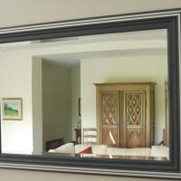 Mirroir érable et métal - Maple and metal mirror
