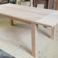 Table à dîner érable - Maple dining table