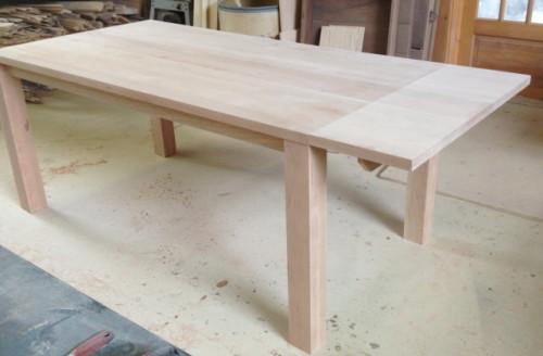 Table à dîner érable – Maple dining table