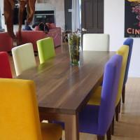 Table à dîner noyer noir - Black walnut dining table