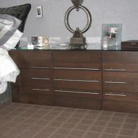 Table de nuit chêne - Oak bedside table